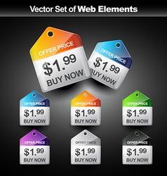 Web banner vector