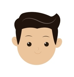 Face of man icon vector