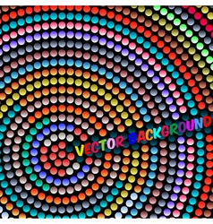 Mosaic rainbow vector
