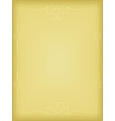 golden vintage background vector image vector image