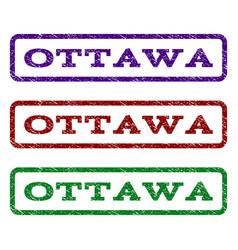 Ottawa watermark stamp vector