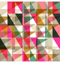 Seamless pattern of geometric shapes Geometric vector image