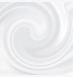 White cream cosmetic product liquid texture vector