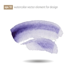 Abstract watercolor art paint on white background vector image vector image