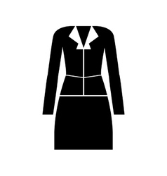 Business woman pictogram icon image vector
