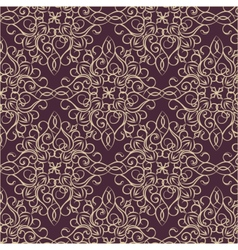 Classic style acanthus pattern vector