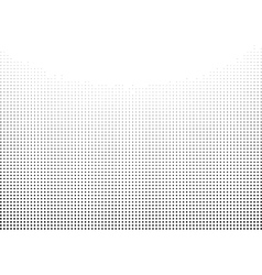Graphical gradient halftone style black on white vector