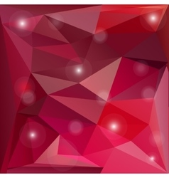Pink valentine background vector image vector image