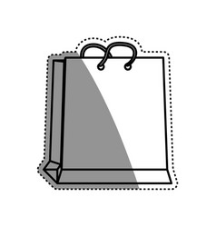 shopping bag gift vector image