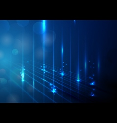 Abstract lights technology concept background vector