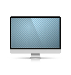 computer object on the white background vector image