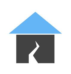 earthquake i vector image vector image