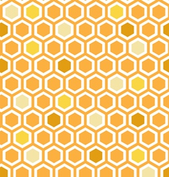 Multicolor honeycomb pattern vector