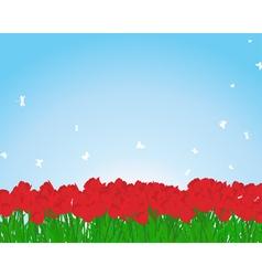 Tulips vector