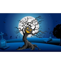 Haunted Tree vector image