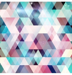 Geometry galaxy background vector