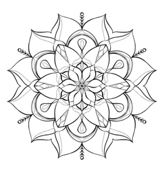 Coloring book for adults Look my portfolio for vector image vector image