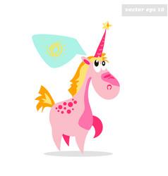 dream like a unicorn vector image vector image