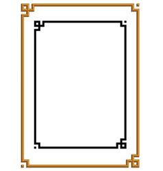 frame 04 vector image