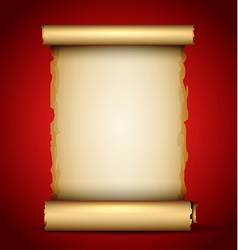 an Old Scroll vector image
