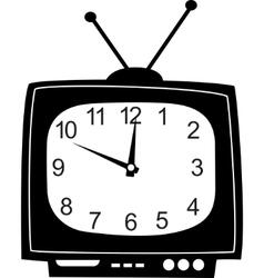 cute wall clock vector image