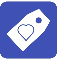 Favorite Tag vector image vector image
