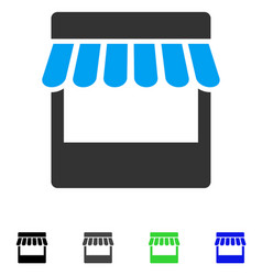 Store flat icon vector