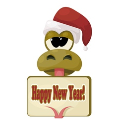 Symbol of New Year 2013 eps10 vector image vector image