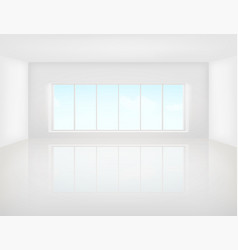 white floor background vector image vector image