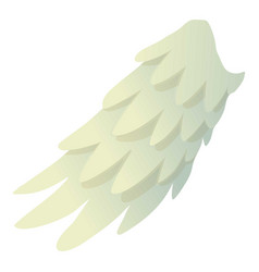 Seraphic wing icon cartoon style vector