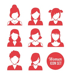Women icon vector