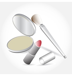 Products cosmetics set vector