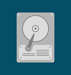 HDD Icon Hard disk drive vector image