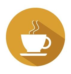 Icon coffee mug vector