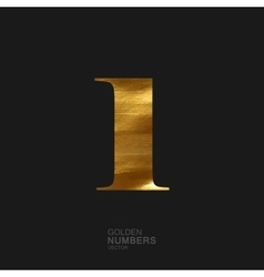 Golden number 1 vector