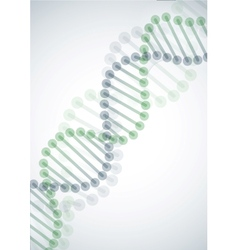Dna molecule background vector