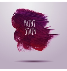 grunge paint abstract background vector image