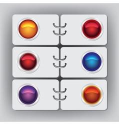 organizer vector image vector image