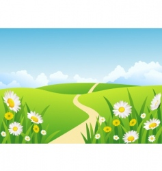 Background grass vector