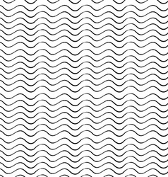 Abstract seamless pattern from waves vector image vector image