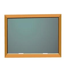 Empty school blackboard vector