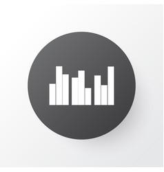 Grouped charts icon symbol premium quality vector