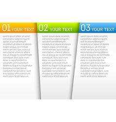 Infographic presentation template vector image