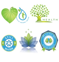 Logo nature vector