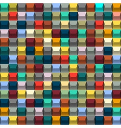 Multicolored background with blocks vector image vector image