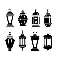 Ramadan Arabic Lanterns vector image