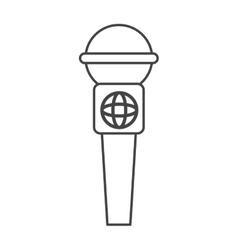 news microphone device vector image