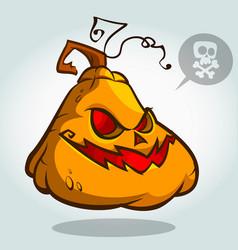 pumpkin 2 vector image
