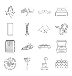 Training food medicine and other web icon in vector