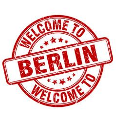 Welcome to berlin vector